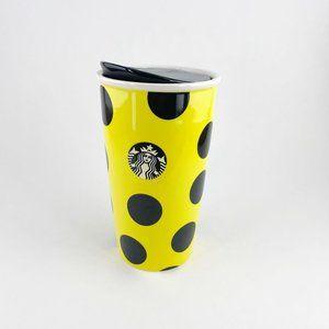 Starbucks 12 oz. Yellow & Black Tumbler